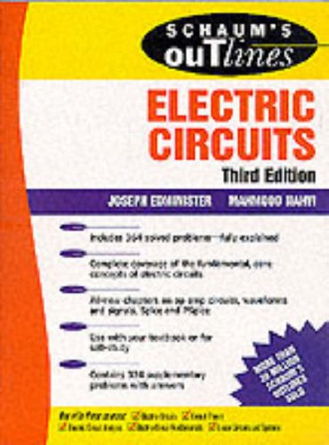 Schaum's Outline of Electric Circuits: Nahvi, Mahmood, Edminister,