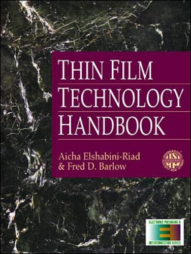 9780070190252: Thin Film Technology Handbook