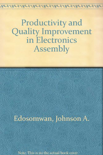 9780070190269: Productivity and Quality Improvement in Electronics Assembly