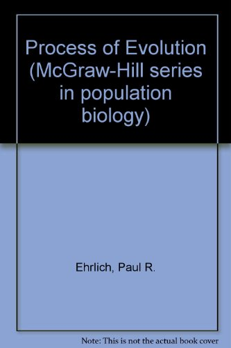 9780070191334: Process of Evolution (McGraw-Hill series in population biology)