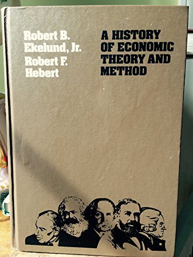 9780070191433: History of Economic Theory and Method