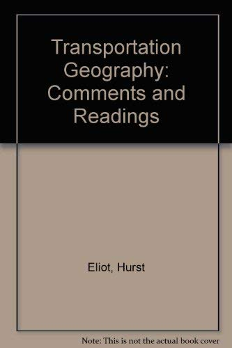 9780070191907: Transportation Geography: Comments and Readings