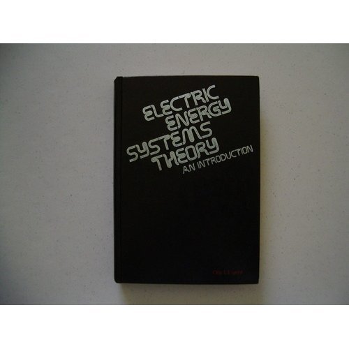 9780070192300: Electric Energy Systems Theory