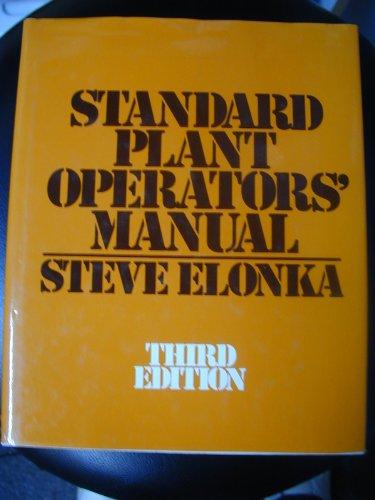 9780070192980: Standard Plant Operators' Manual