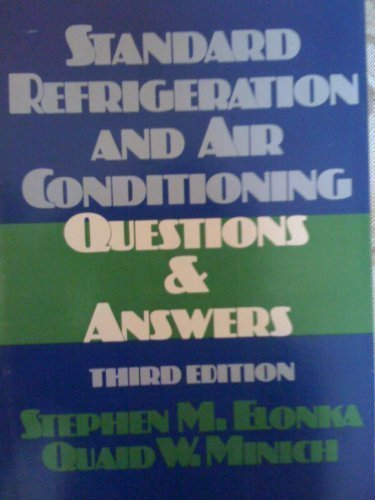 9780070193178: Standard Refrigeration and Air Conditioning Questions & Answers