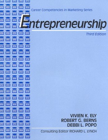 Entrepreneurship : Career Competencies in Marketing Series,: Richard L. Lynch