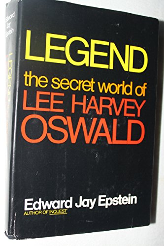 9780070195394: Legend: The Secret World of Lee Harvey Oswald