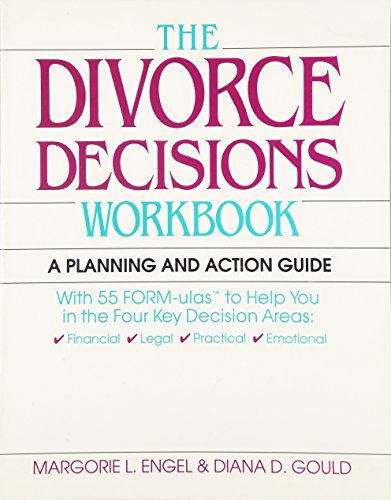 9780070195714: Divorce Decisions Workbook: A Planning and Action Guide to the Practical Side of  Divorce