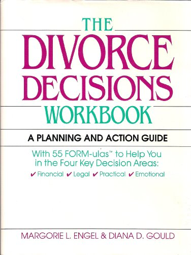 9780070195721: The Divorce Decisions Workbook: A Planning and Action Guide