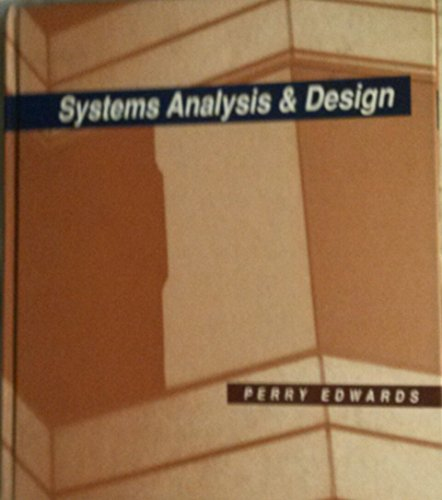 9780070195738: Systems Analysis and Design
