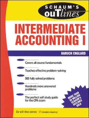 9780070195790: Schaum's Outline of Intermediate Accounting I