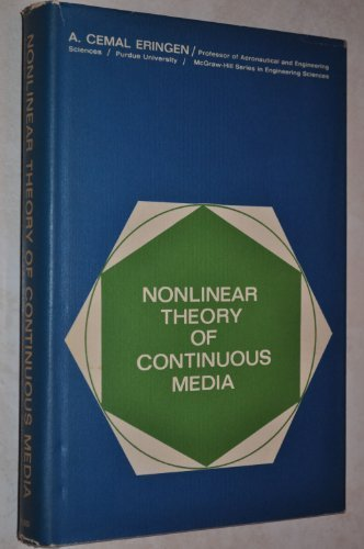 9780070195806: Nonlinear Theory of Continuous Media (Engineering S.)