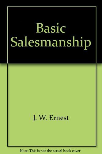 9780070195950: Basic Salesmanship