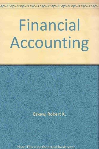 9780070196162: Financial Accounting