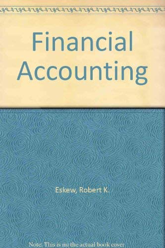 9780070196162: Financial Accounting