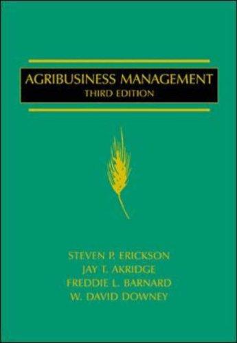 9780070196377: Agribusiness Management