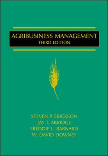 9780070196377: Agribusiness Management