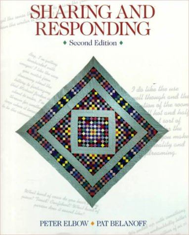 Sharing and Responding (0070196958) by Peter Elbow