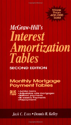 MCGRAW-HILL'S INTEREST AMORTIZATION TABL