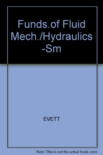 9780070197800: Funds.of Fluid Mech./Hydraulics -Sm