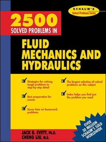 9780070197848: 2,500 Solved Problems In Fluid Mechanics and Hydraulics (Schaum's Solved Problems Series)