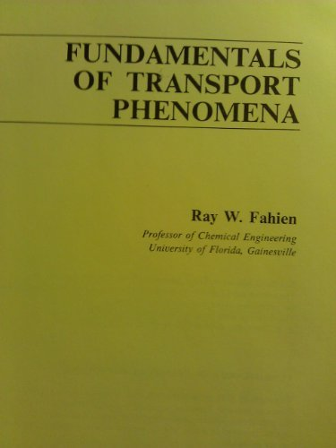9780070198913: Fundamentals of Transport Phenomena