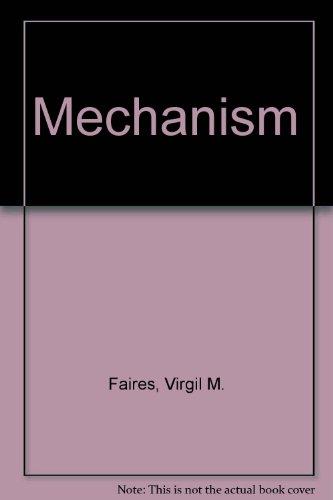 9780070198999: Mechanism