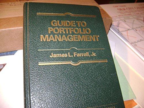 9780070199705: Guide to Portfolio Management (Finance Guide)