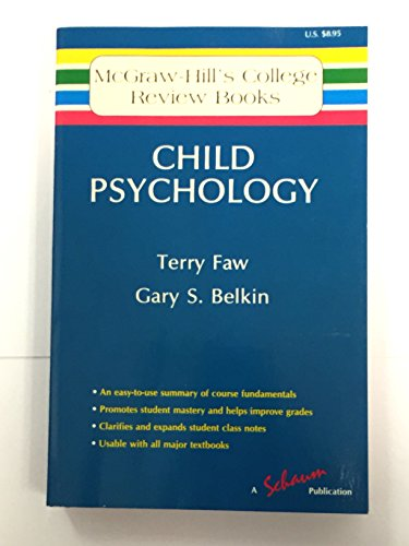 9780070201125: Child Psychology (Mcgraw-Hills College Review Books)