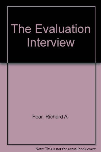 9780070202184: The evaluation interview