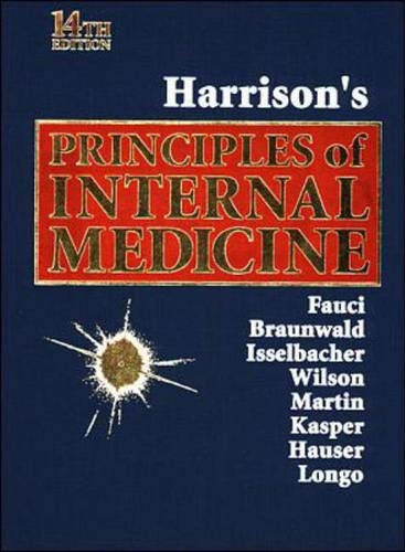 9780070202917: Harrison's Principles of Internal Medicine, 14th edition (Single Combined Volume)