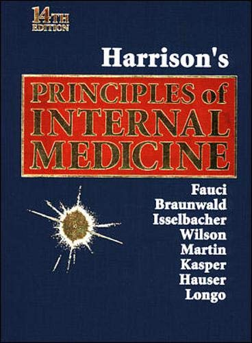 9780070202917: Harrison's Principles of Internal Medicine (Single Volume)