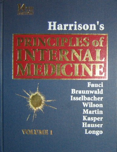 9780070202924: Harrison's Principles of Internal Medicine, 14th edition (Volume 1)
