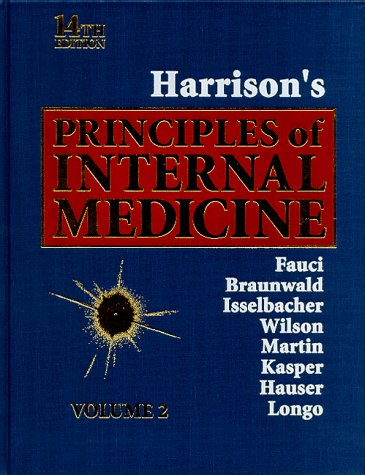 9780070202931: Harrison's Principles of Internal Medicine, 14th edition (Volume 2)