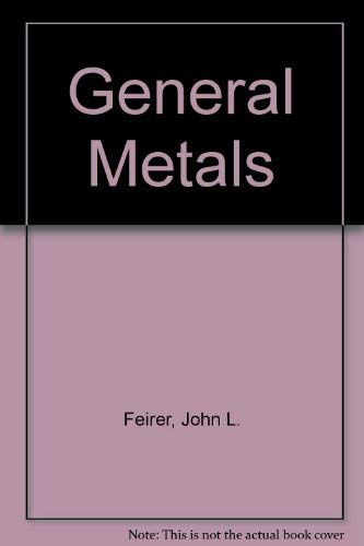 9780070203778: General metals (McGraw-Hill publications in industrial education)