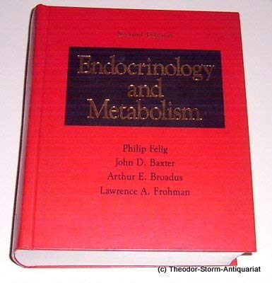 9780070203907: Endocrinology and Metabolism