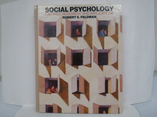 9780070203921: Social Psychology: Theories, Research, and Applications