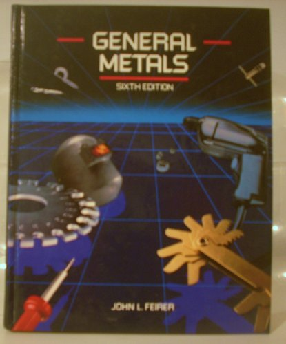 9780070203983: General Metals (McGraw-Hill Publications in Industrial Education)