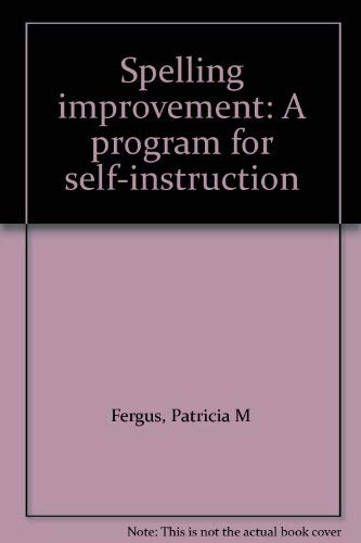 9780070204560: Spelling improvement: A program for self-instruction