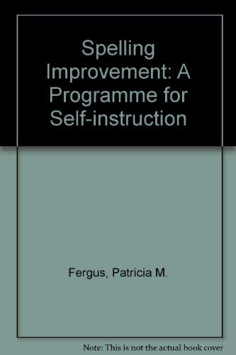 9780070204768: Spelling Improvement: A Program for Self-Instruction