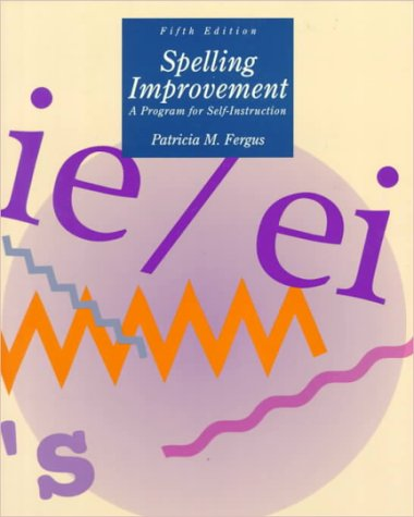 9780070204874: Spelling Improvement: A Program for Self-Instruction