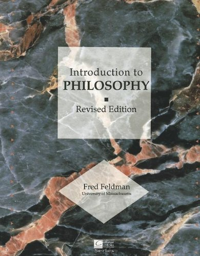 Introduction to Philosophy (College Custom): Feldman, Fred