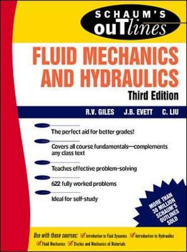 9780070205093: Schaum's Outline of Fluid Mechanics and Hydraulics (Schaum's Outline Series)