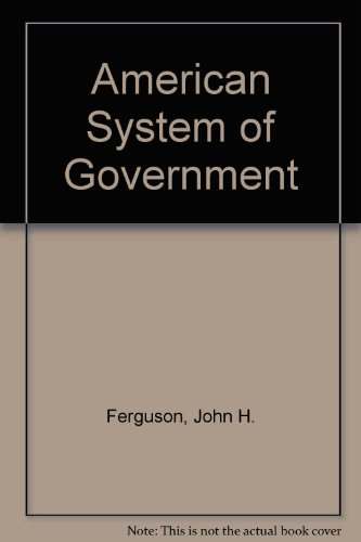 9780070205215: American System of Government