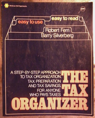 9780070206397: The Tax Organizer