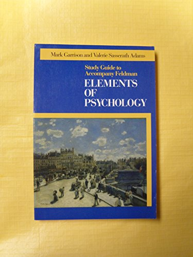 9780070206564: Elements of Psychology: Student's Guide