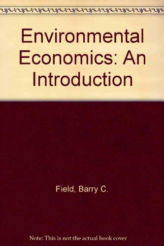 9780070207974: Environmental Economics: An Introduction