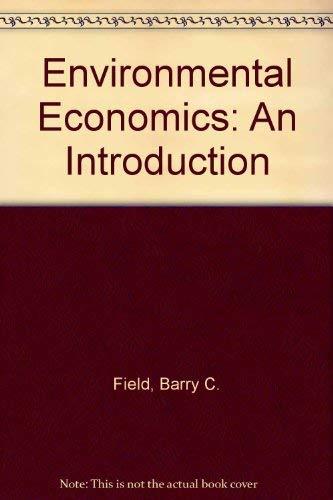 9780070207974: Environmental Economics: An Introduction