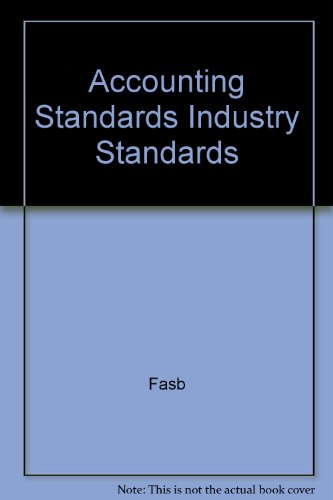 9780070209053: Accounting Standards Industry Standards