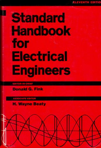 9780070209749: Standard Handbook for Electrical Engineers
